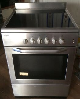 Euromaid FreeStanding Stainless Steel Ceramic Top Oven/Stove