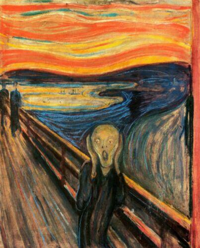 Print - The Scream, 1893 by Edvard Munch