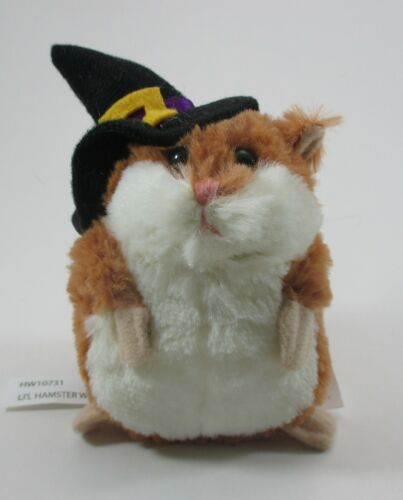 "zzdwr LIL HAMSTER plush Witch brown stuffed 3.5"" Ganz halloween"