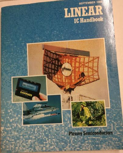 PLESSEY SEMICONDUCTORS LINEAR IC HANDBOOK 1988