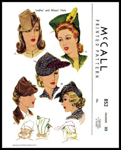 Unique Millinery Stunning Fascinator Hats VTG 1940