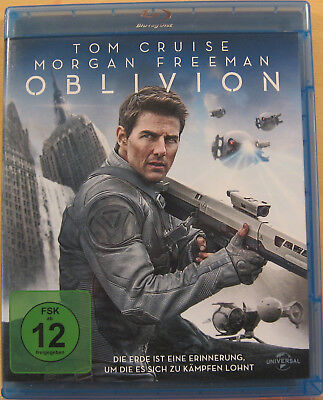 Blu-ray - Oblivion -Tom Cruise, Morgan Freeman - neuwertig - kostenloser Versand (Drama Kostenlos)