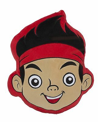New Jake And The Neverland Pirates Matey Comfy Cushion Pillow Boys Kids Bedroom  - Jake And The Neverland Pirates Bedroom