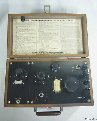 Honeywell Rubicon 2703 Portable Potentiometer Testing Equipment