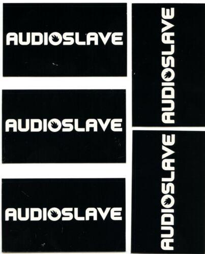 Audioslave 2002 Debut Album Lot Of 5 Original Band Promo Stickers 3 x 5 Inches