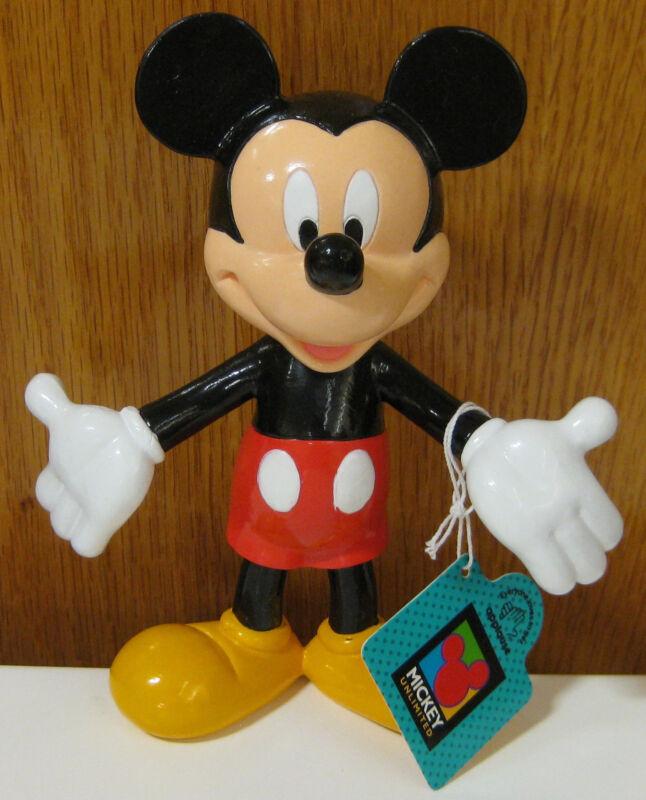 NWT Disney Mickey Mouse APPLAUSE Nodder Bobblehead Bobble Head Figure Doll