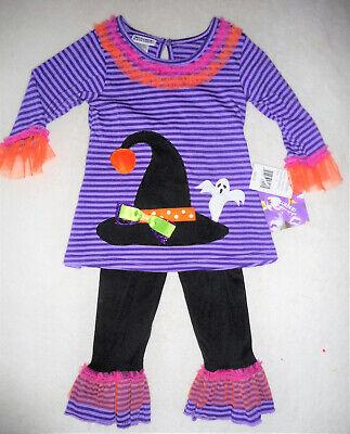 HALLOWEEN 💜 Baby Mädchen Kleid + Leggings 💜 - Baby Halloween Kleid