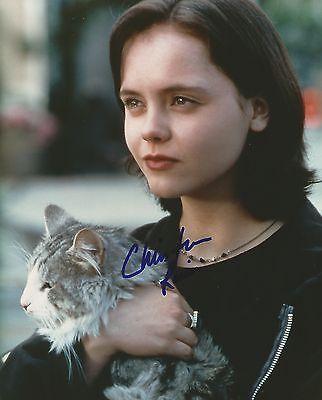 Christina Ricci hand signed 8x10 photo, with COA