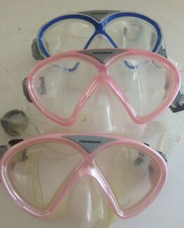 Used & NEW CHILDREN'S MASKS from $10 Swimming Snorkelling