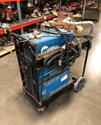 2017 Miller 907716-01-1 - 400 Maxstar Tig Welder W Coolant Cart And Acc.