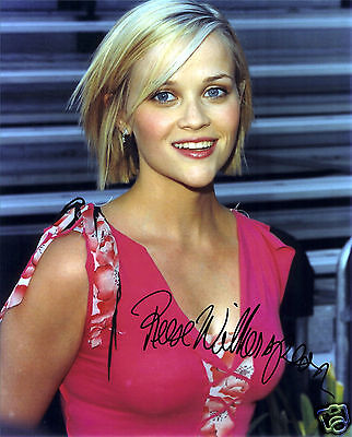 REESE WITHERSPOON AUTOGRAPH SIGNED PP PHOTO POSTER