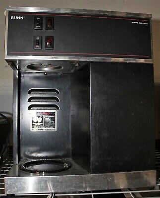 Bunn Vpr Series Top Bottom Commercial Coffee Maker Stainless Black