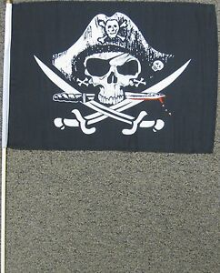 PIRATE-FLAG-12X18-12-X-18-DEADMANS-CHEST-DEAD-MAN-W6