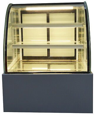 220v Refrigerated Cake Display Cabinet Floor Standing 35.4new