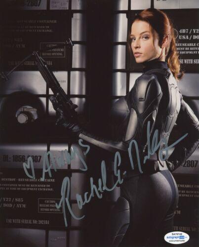 Rachel Nichols GI Joe Autographed Signed 8x10 Photo ACOA