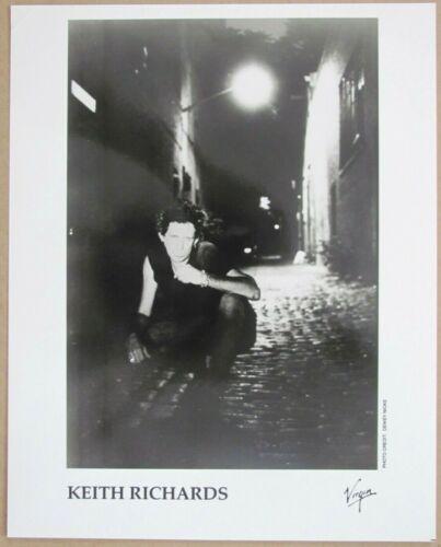 ROLLING STONES K. RICHARDS Original 1992 MAIN OFFENDER A4 Glossy Matte Photo