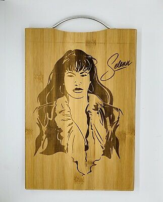 Selena laser engraved high quality cuttingboard kitchen pop