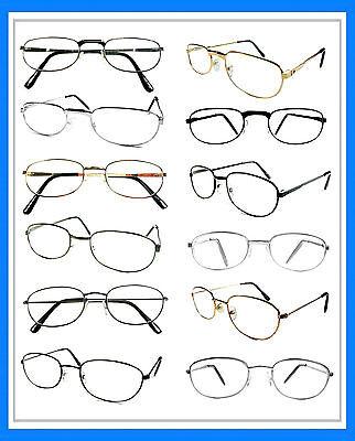 Mr. Reading Glasses [+2.00] 12 Metal Frame Wholesale Lot Reader Unisex 2.00