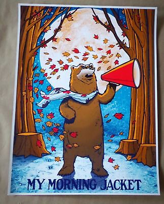 My Morning Jacket Brand New poster, printed on Heavy Cardstock