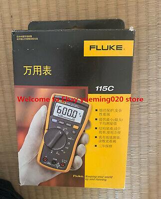 Ship Dhl Fluke 115c True Rms Multimeter Fluke115c