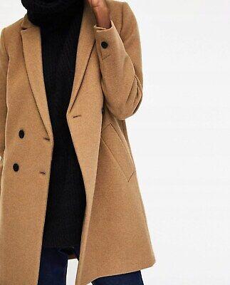 BNWT Zara TRF Camel Wool Blend Masculine Tomboy Coat - Size M for sale  Shipping to Ireland