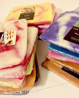 Eco Friendly soy wax melt thick brittle slab 180g YUMMY fragrances.
