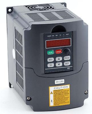 Neu Frequenzumrichter Variable Frequency Drive Inverter VFD 380V 2.2KW CNC