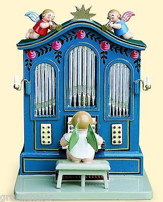 Wendt & Kühn Orgel ohne Musikwerk  636/Or Erzgebirge Spieluhr Spieldose