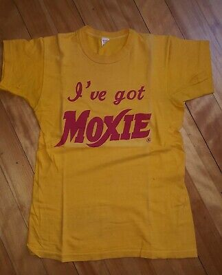 Vintage 1960's MOXIE T Shirt Size 38 Russell Southern Co