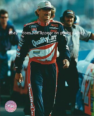 Dale Jarrett  88 Quality Care Ford Credit Nascar Winston Cup Series 8 X 10 Photo