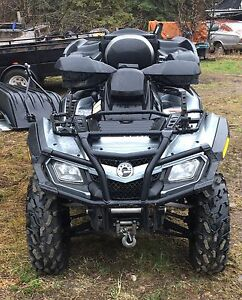 2 up can am 800 XTMAX LIMITED 8000$
