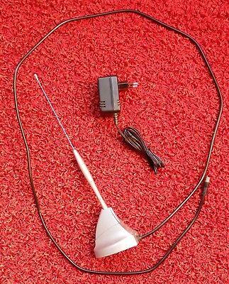 Gebraucht, Philips SDV 2230/10 aktive VHF/UHF Zimmerantenne mit Netzteil gebraucht kaufen  Deutschland