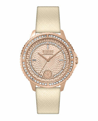 Brand New Luxury Versus Versace Watches Women Rose Gold Dial VSPLM2119