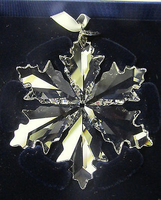 SWAROVSKI Crystal 2014 Annual Snowflake Christmas Ornament 3
