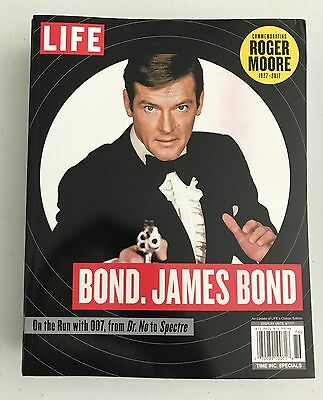 Roger Moore Life Magazine As James Bond Brand New New In Coltr  Sleeve