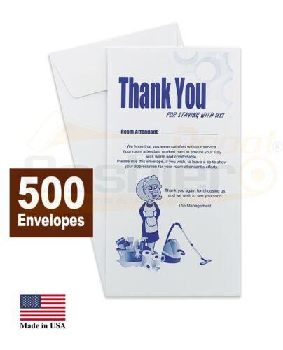 """Housekeeping Tip Thank you Envelope, 3 1/2"""" X 6 1/2"""", 500/Box"""