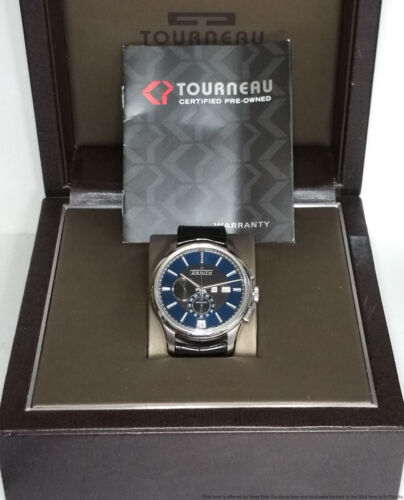 Minty Zenith El Primero Chronograph Automatic Mens Watch w Box Papers - watch picture 1