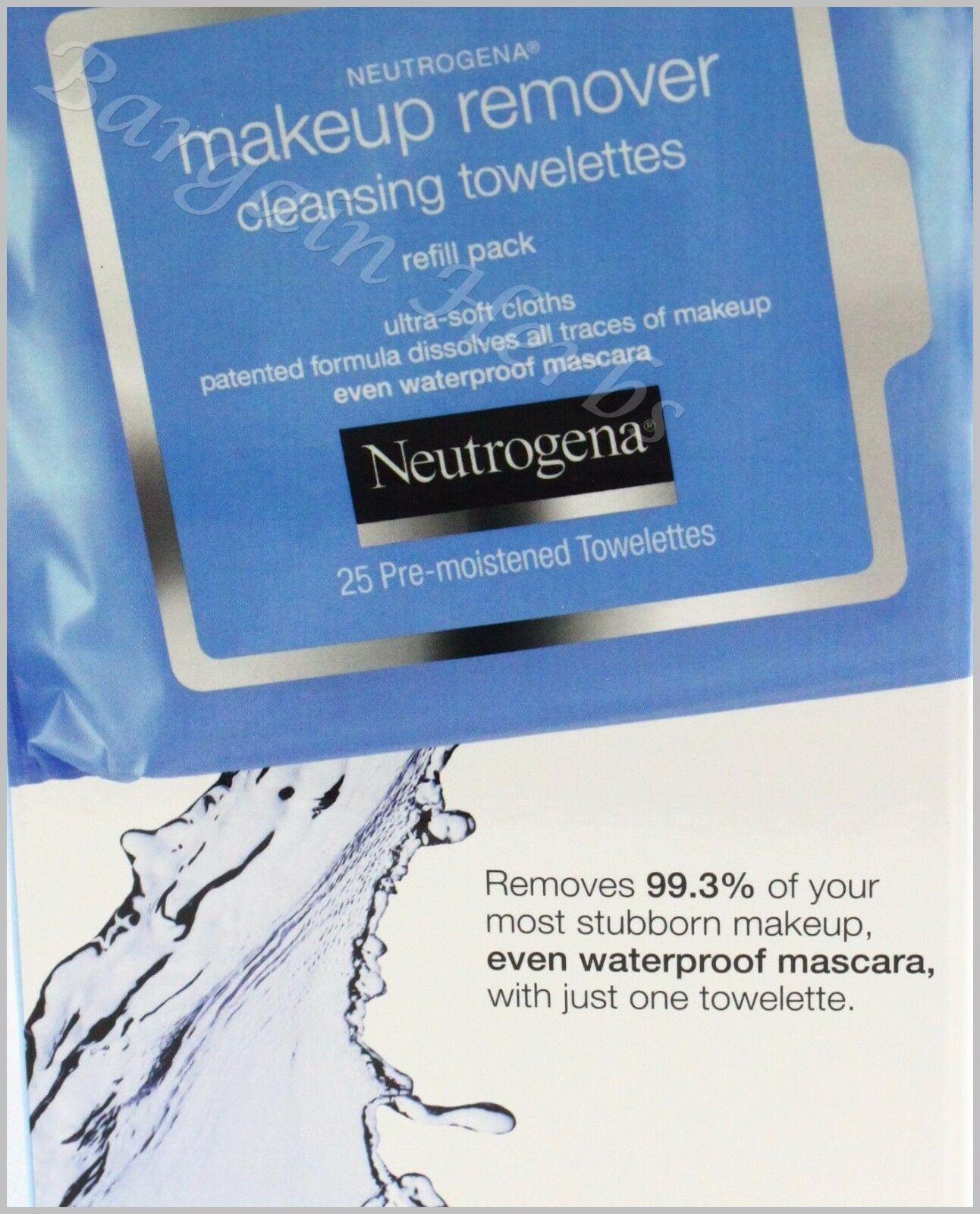Neutrogena Makeup Remover Facial Towelettes Wipes New Free S