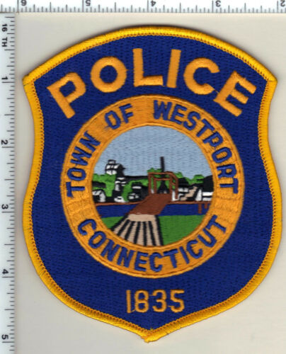 Town of Westport Police (Connecticut) Shoulder Patch - new from 1989