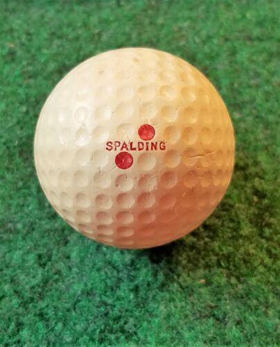 VINTAGE COLLECTIBLE SPALDING DOUBLE DOT TOP-FLITE GOLF BALL - 1.62