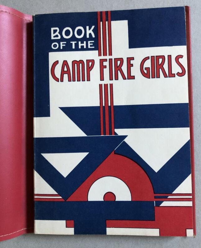 Camp Fire Girls Book 1958