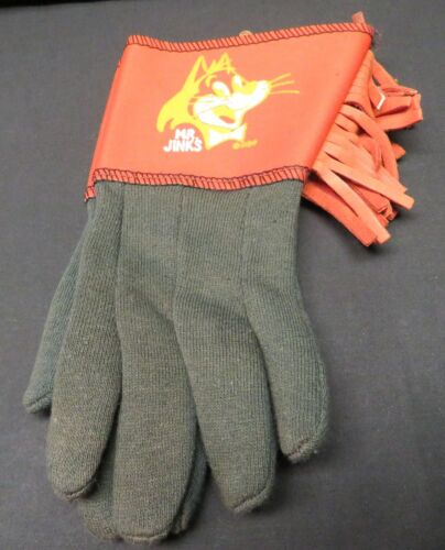 VTG Childs Mr Jinks Hanna Barbera Productions, Huckleberry Hound Gloves w/Cuff