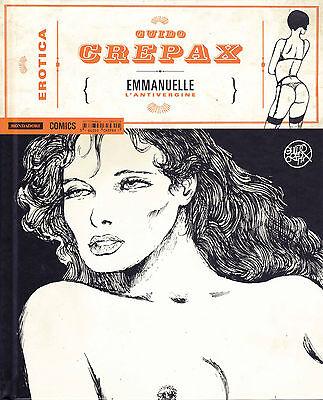 CREPAX : collana EROTICA n°  3 - EMMANUELLE - ed. Mondadori SCONTO 50%