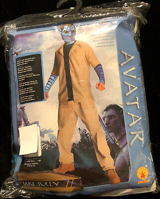 AVATAR JAKE SULLY Adult Halloween Costume Cosplay Sz Standard NEW - Sully Costume For Men