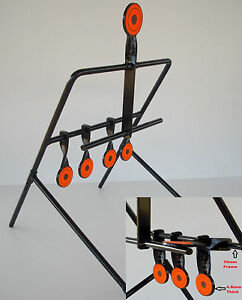 Metal Gallery Airifle/.22  Resetting Shooting hunting Target new
