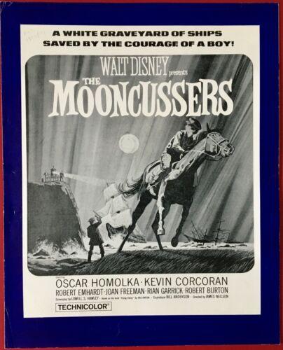 Mooncussers ORIGINAL Campaign Book Walt Disney 1962