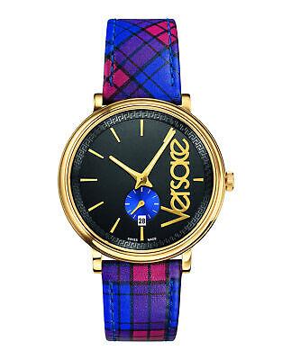 Versace Mens V-Circle - The Clans Edition Watch VEBQ00218