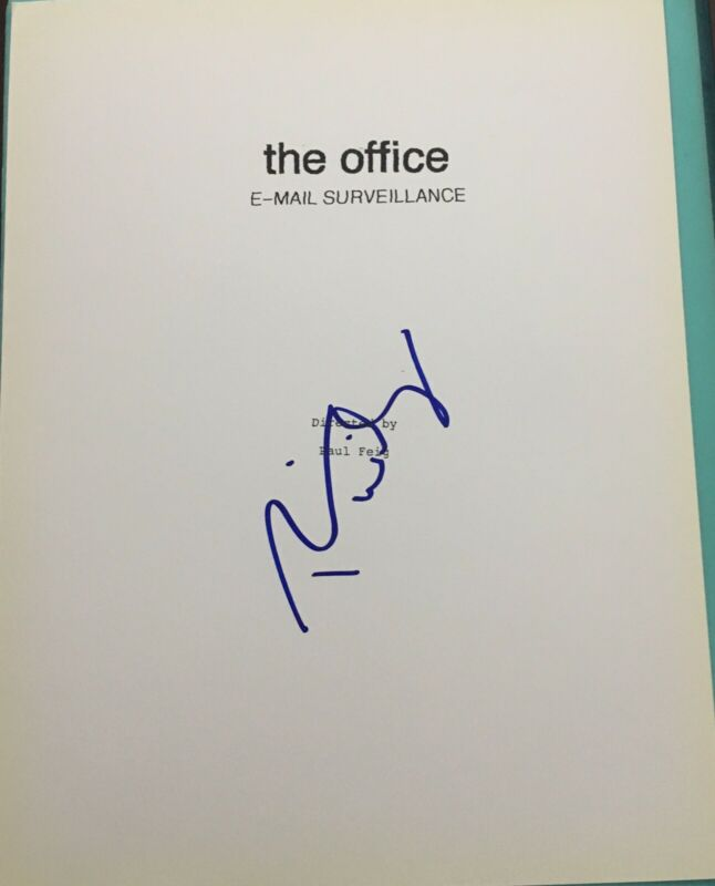 "RAINN WILSON SIGNED AUTOGRAPH ""THE OFFICE"" FULL PILOT EPISODE SCRIPT WITH COA"