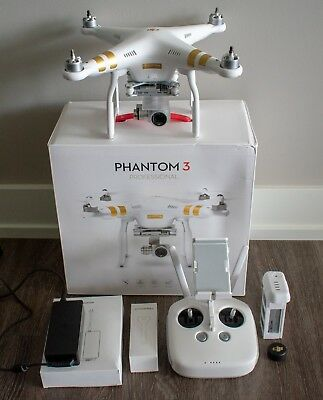DJI Phantom 3 Professional Quadcopter 4K Drone Sold AS IS