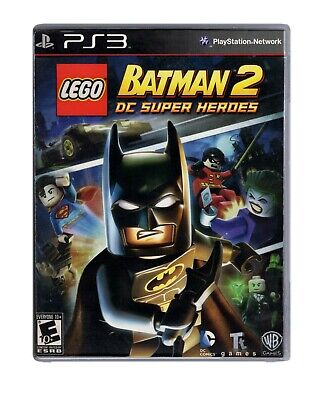 Lego Batman 2: DC Super Heroes - PS3 Game Tested, Works Perfectly! No Manual